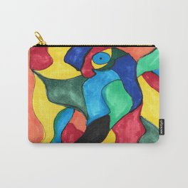 Stained Glass Eye Carry-All Pouch