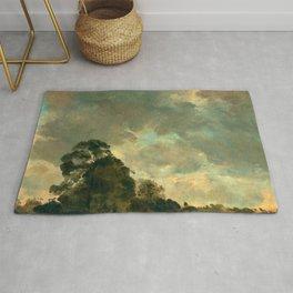 "John Constable ""A Cloud Study"" 3. Rug"