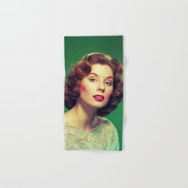 Suzy Parker, Vintage Actress Hand & Bath Towel