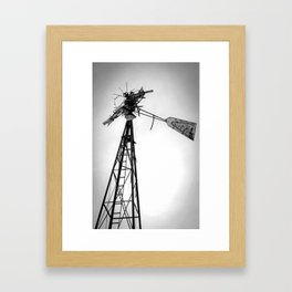 Twisted Windmill II Framed Art Print