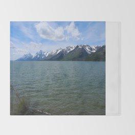 Jackson Lake Impression Throw Blanket