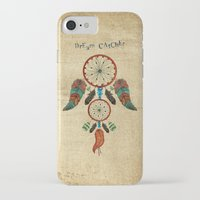 dream catcher iPhone & iPod Cases featuring DREAM CATCHER by Heaven7