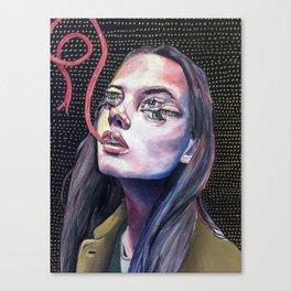 ya girl got 6 eyes Canvas Print