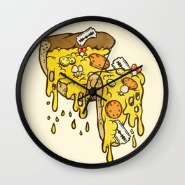 Cheezy Wall Clock