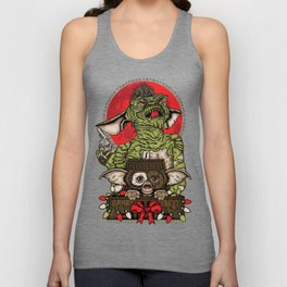 Never Feed Them After Midnight Unisex Tank Top