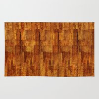 buildings Area & Throw Rugs featuring Buildings by GLR67