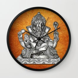 Remover of Obstacles Wall Clock