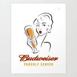 Beer Poster Art Print