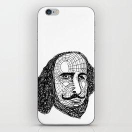 William Shakespeare iPhone Skin