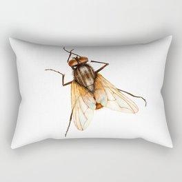 Musca Domestica Rectangular Pillow