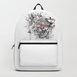 Skull Pirate - arrr, matey! Backpack