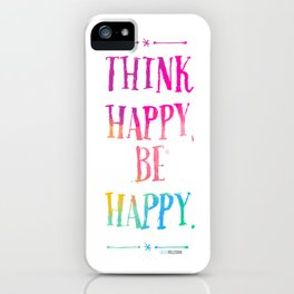 Happy iPhone Case