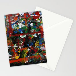 Painted sheet Stationery Cards