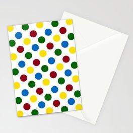 School Days Polka Dots Stationery Cards