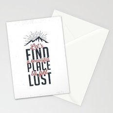 FIND A PLACE Stationery Cards