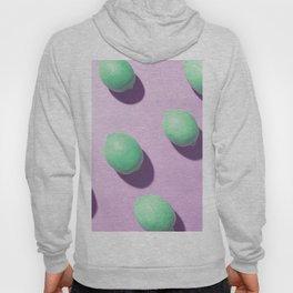 Acid lemons in violet Hoody