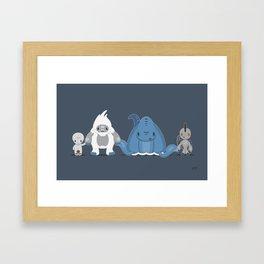 Believe In Us Framed Art Print