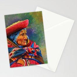 Las marcas del Cuzco Stationery Cards