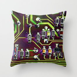 Short Circuit 2 Throw Pillow