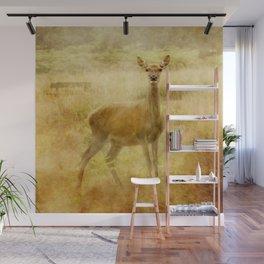 Female Red Deer Wall Mural