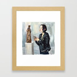 Ladies of the Cloisters Framed Art Print