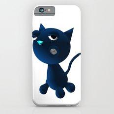 Light Blue Cat iPhone 6s Slim Case