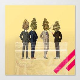 Gentlemen's Smoking Club Canvas Print