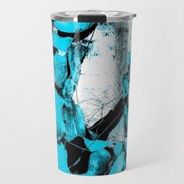 Cold Blue Horse Travel Mug