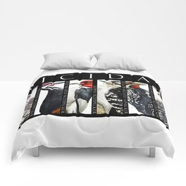 Woodpeckers of North America Comforters