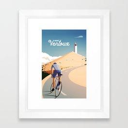 Mont Ventoux Framed Art Print
