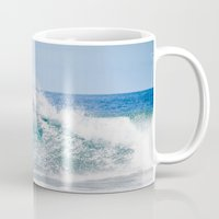 surfer Mugs featuring Surfer by Carmen Moreno Photography