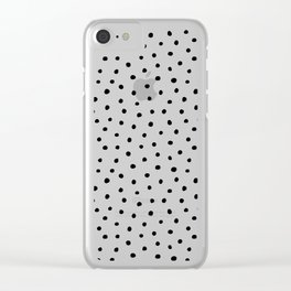 Perfect Polka Dots Clear iPhone Case