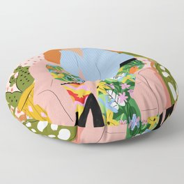 You can do everything you want Floor Pillow