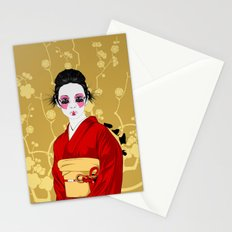 Geisha R Stationery Cards