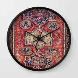 Kuba Sumakh East Caucasus Antique Rug Wall Clock