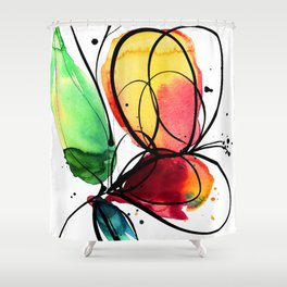 Ecstasy Bloom No.6 by Kathy Morton Stanion Shower Curtain