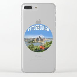Pittsburgh Clear iPhone Case