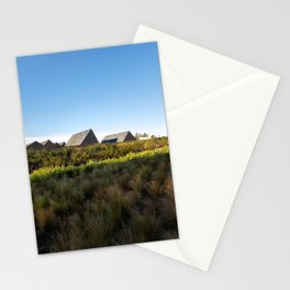 A village in the city Stationery Cards
