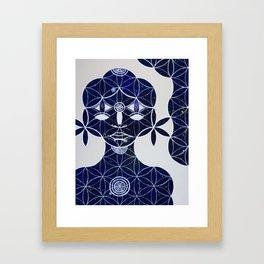 The Courier Framed Art Print