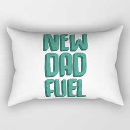 New Dad Fuel Rectangular Pillow