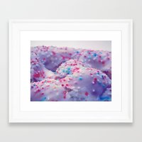 sprinkles Framed Art Prints featuring Sprinkles by J.MK