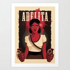 Adelita Art Print