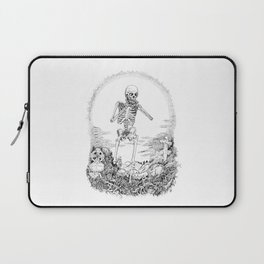 Death and Harmonica Laptop Sleeve