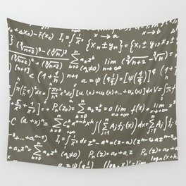 Math Wall Tapestry