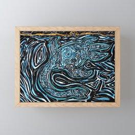 Underwater Secrets Framed Mini Art Print