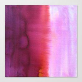 Flood Red Canvas Print