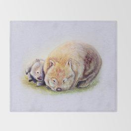 Itchascratch Throw Blanket