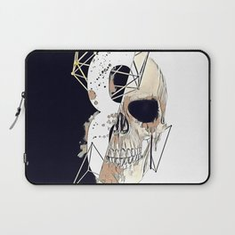 Skull illustration. Laptop Sleeve
