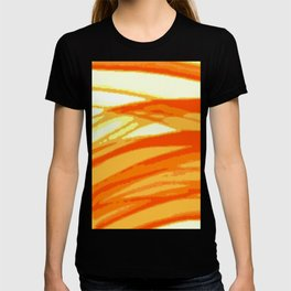 Orange Blur T-shirt
