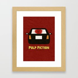 Pulp Fiction Framed Art Print